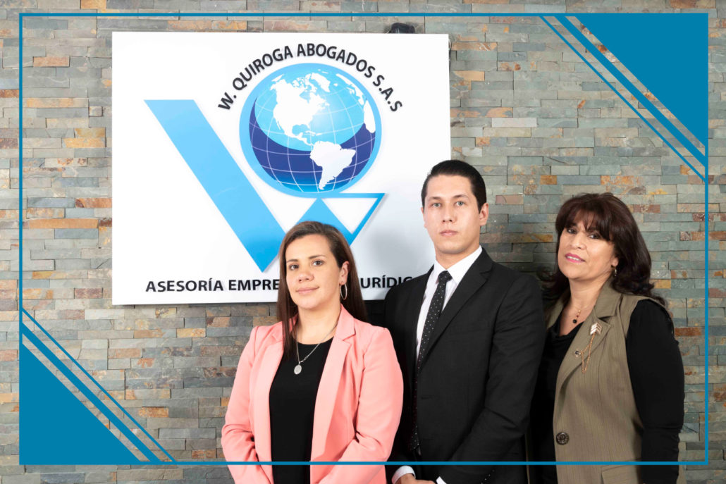 Integrantes Dpto. Propiedad Intelectual e Industrial - W. Quiroga Abogados S.A.S